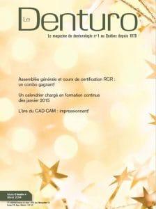 Magazine Le Denturo Hiver 2014